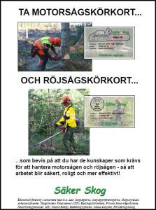 Infobroschyr Motorsågskörkort-röjsåg förstasidan f hemsida